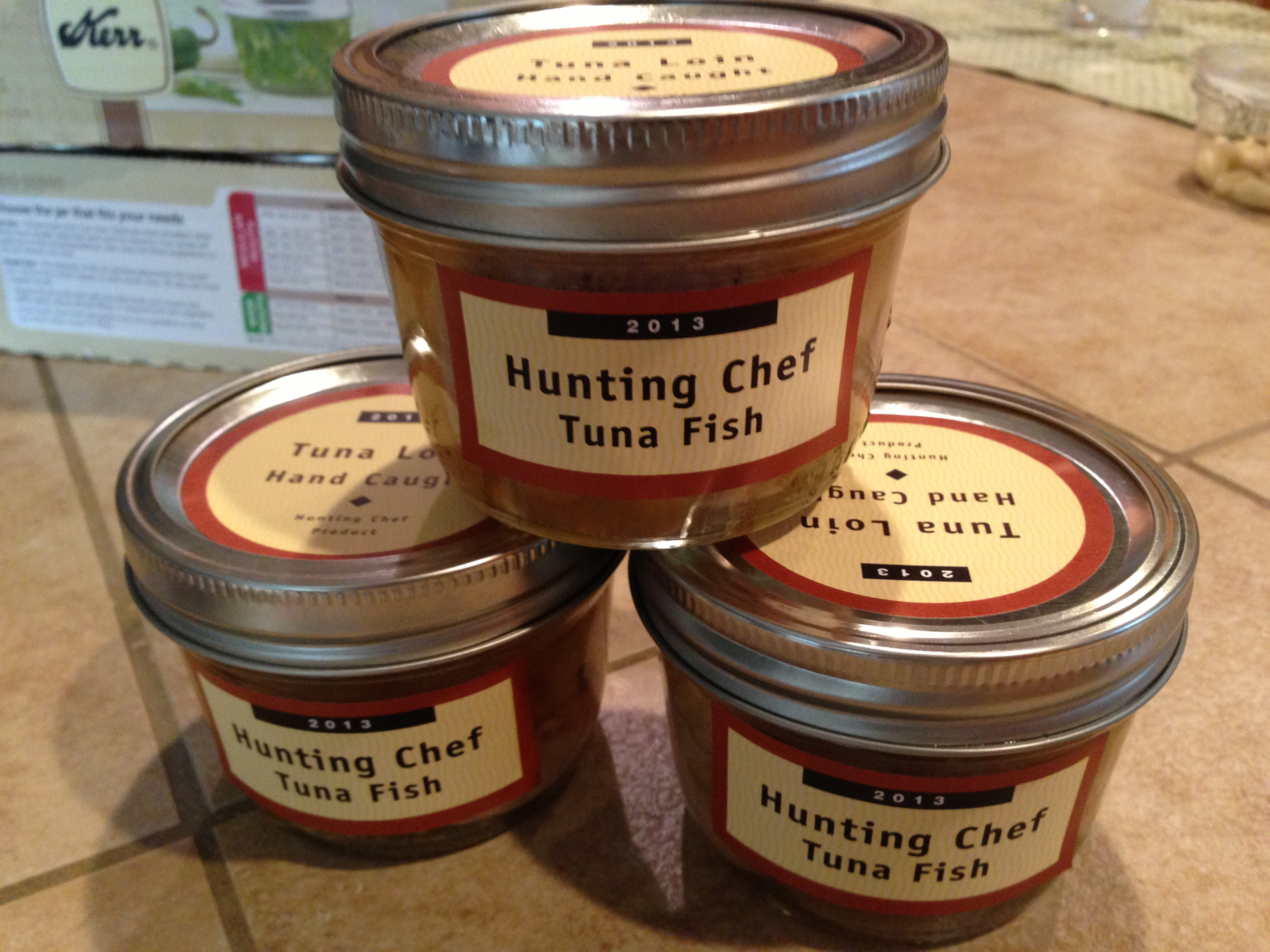 How to can fish in a pressure cooker the hunting chef for Pressure cooker fish recipes