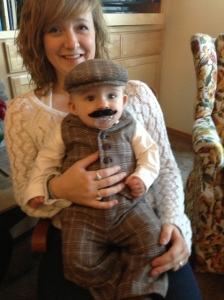 Al Capone Jr and Megan hanging out.  How did he grow that stash so fast?