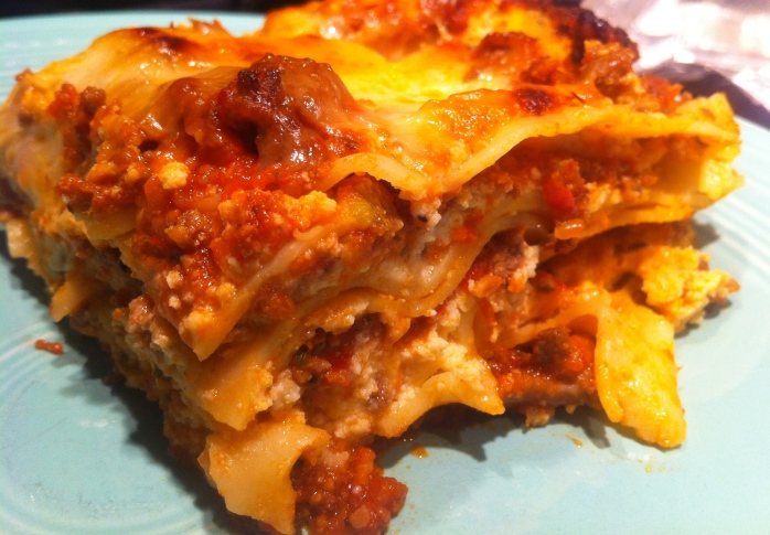 I would put this lasagna up against any Italian from the Bronx.  Forgetaboutit!