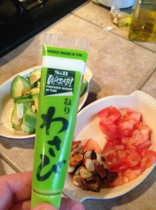 This is the Wasabi I used, no salt!!!