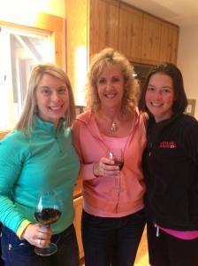 Here is the Empanda Cooking Team.  Erin, Shery, Stephanie.