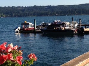 Beatiful day on the Hood Canal.