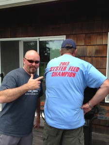 Big Hess, 2013 Oyster Champion.