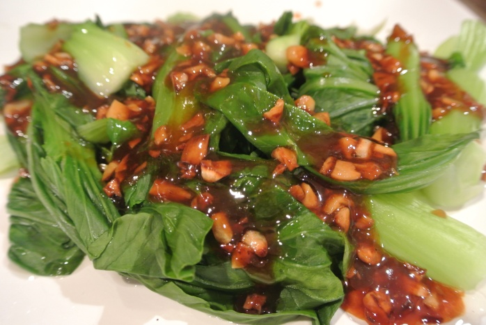 Bok Choy with Garlic Soy Sauce