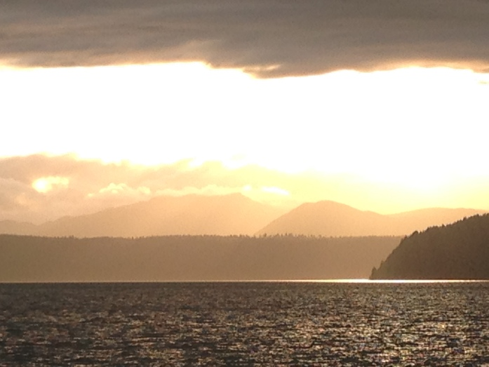 The Hood Canal.