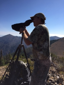 Thad stayed for 20 hours behind his spotting scope for this hunt.